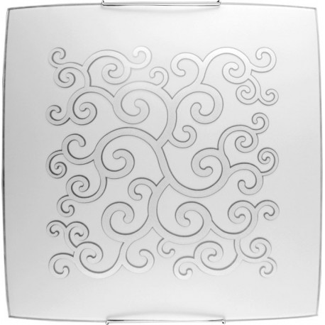 Plafon Arabeska Silver 8 3702 Nowodvorski