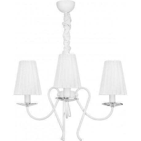 Lampa Wisząca Abażur Żyrandol Tropea White III Zwis 5203 Nowodvorski