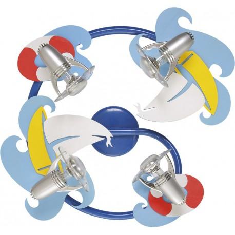 Plafon Sailor IV Spirala 3670 Nowodvorski