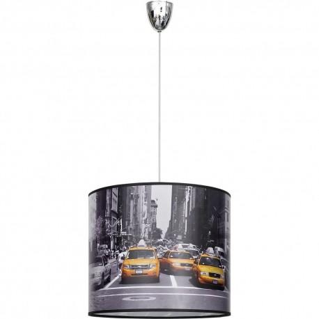 Lampa Wisząca Abażur New York I Zwis 5146 Nowodvorski