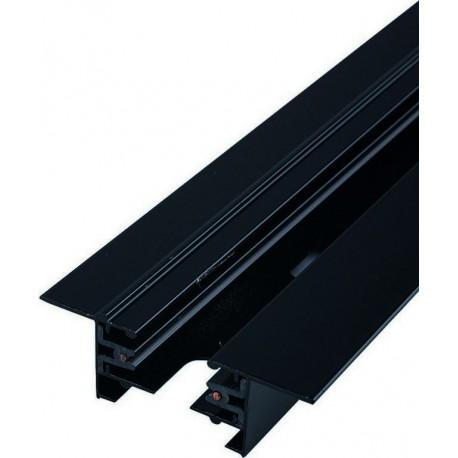 9015 PROFILE RECESSED TRACK BLACK 2 METERS Nowodvorski