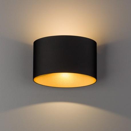 Ellipses LED Black-gold 8181 Lampa ścienna Nowodvorski Lighting