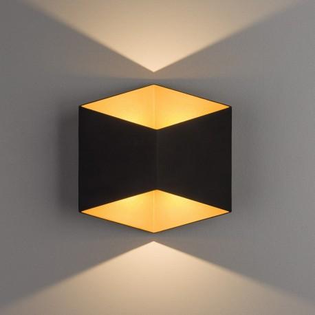 Triangles LED Black-gold 8141 Lampa ścienna Nowodvorski Lighting